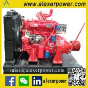 R4105ZP Diesel Engine for PTO and Pulley Belt