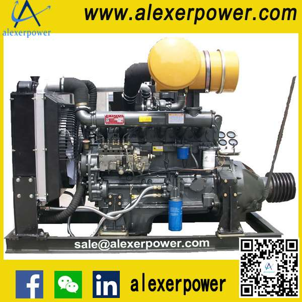 R6105AZLP Diesel Engine for PTO and Pulley Belt-2