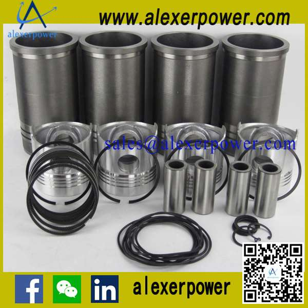 Weichai Ricardo Diesel Engine Cylinder Liner+Piston+Ring+Pin-2