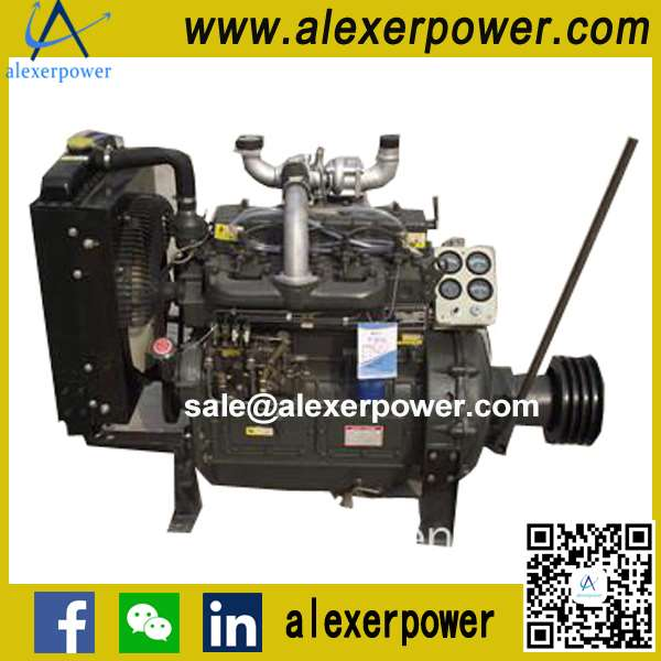 K4100ZP Diesel Engine for For PTO and Pulley Belt