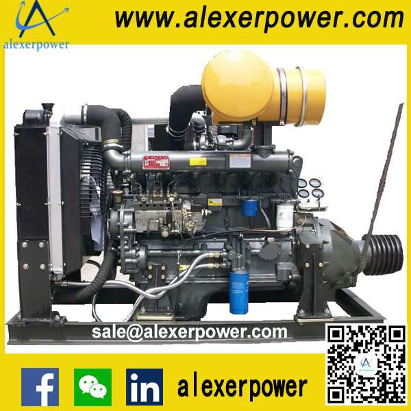 R6105ZP Diesel Engine for PTO and Pulley Belt-1
