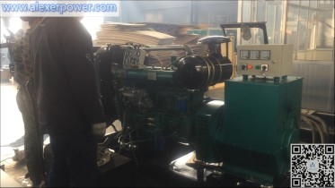 Ricardo 100KW Generator Test
