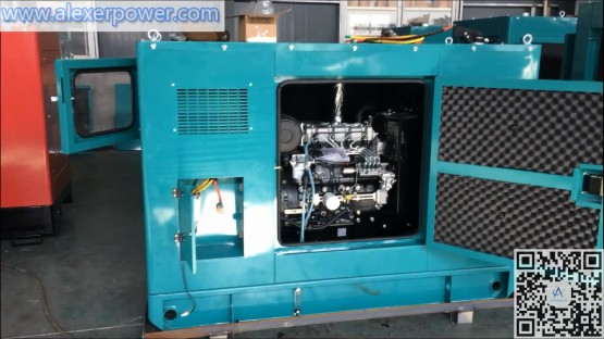30kva perkins diesel generator with cabin super soundproof perkins 404D-22 engine with stamford PI144H1 alternator