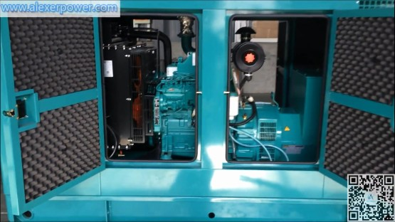 60kva diesel generator Cummins engine 4BTA3.9-G2 with stamford orginal brushless UCI224F14 alternator