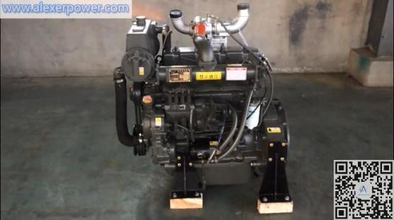 Weichai R4105ZCD Marine Diesel Engine Motor 56kw 76hp with CCS ZY ZC certificate