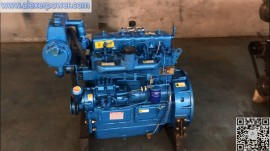 Weichai ZH4100CD Marine Diesel Engine Motor 30kw with CCS certificate