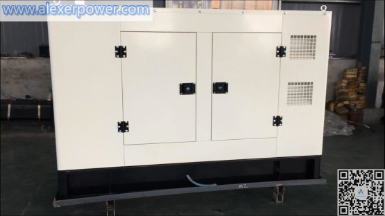 Weichai 30kw silent soundproof low noise cabin diesel generator set made in Weifang
