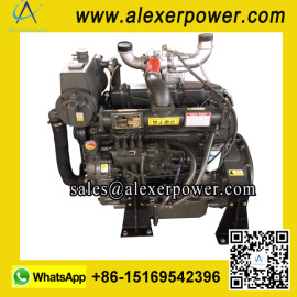 Weichai Ricardo R4105ZCD Marine Diesel Engine with Turbocharger Certificated by CCS-1