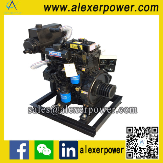 Weichai ZH2100CD Marine Diesel Engine with Pulley and Sea Water Exchanger