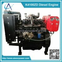 K4100ZD diesel engine with fuel tank-1
