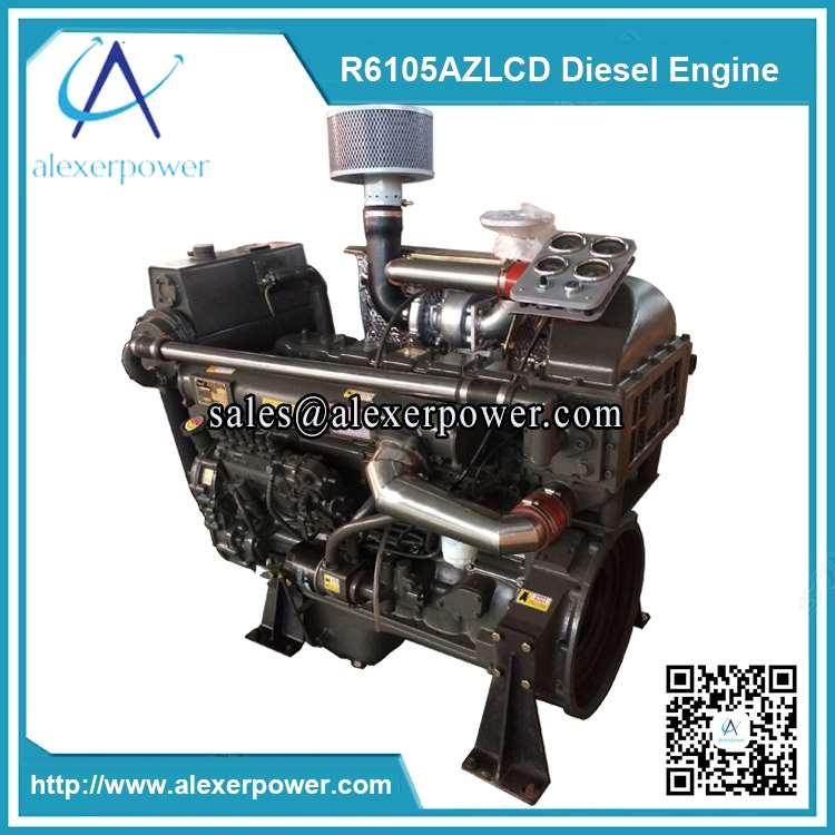 R6105AZLCD diesel engine-2