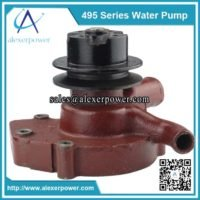 Weichai 495 water pump-2