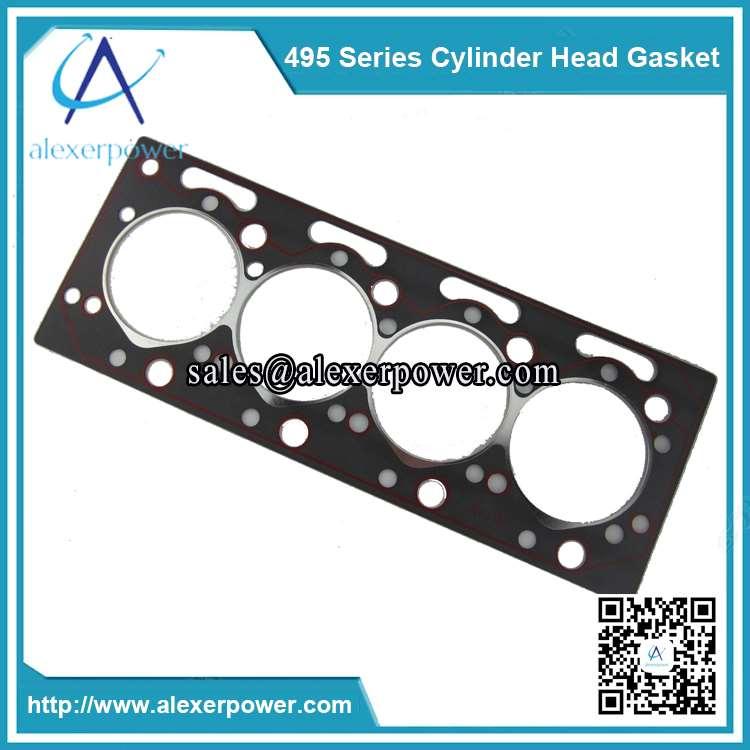 Weichai K4100 diesel cylinder head gasket-2