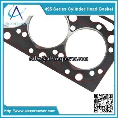 Weichai K4100 diesel cylinder head gasket-3