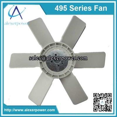 Weichai K4100 diesel engine fan-1
