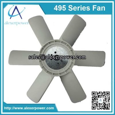 Weichai K4100 diesel engine fan-2