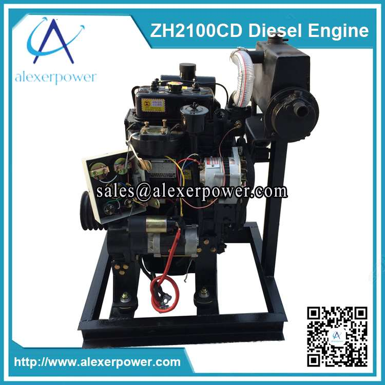 Weichai 20kw marine diesel engine weifang zh2110 marine motor for General motors marine engines