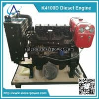 K4100D diesel engine with fuel tank (1)