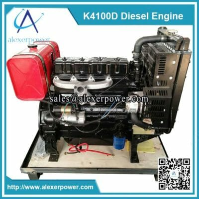 K4100D diesel engine with fuel tank (3)