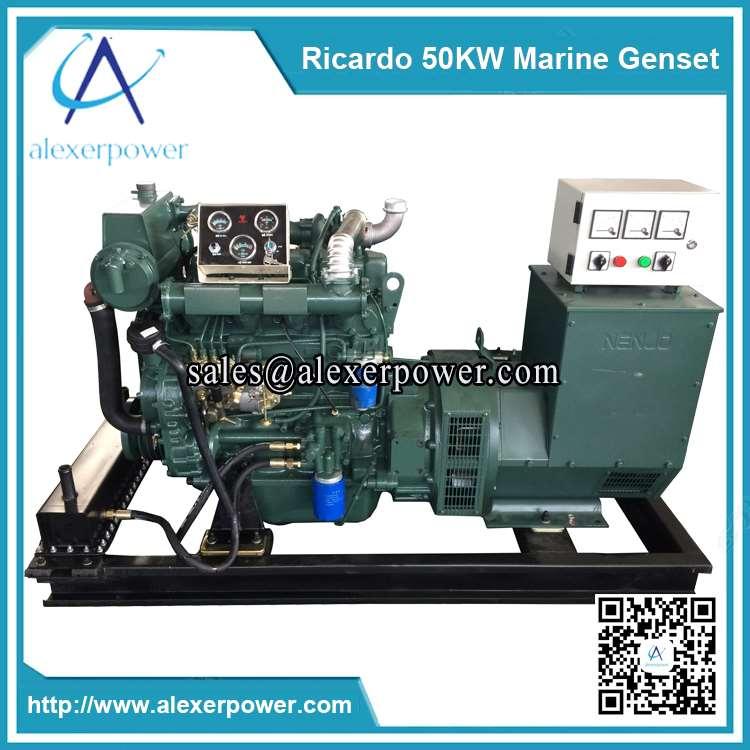 Ricardo 50kw Marine Diesel Generator-1