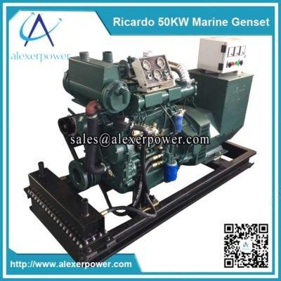 Ricardo 50kw Marine Diesel Generator-2