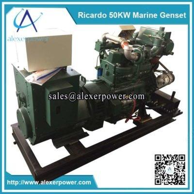 Ricardo 50kw Marine Diesel Generator-3