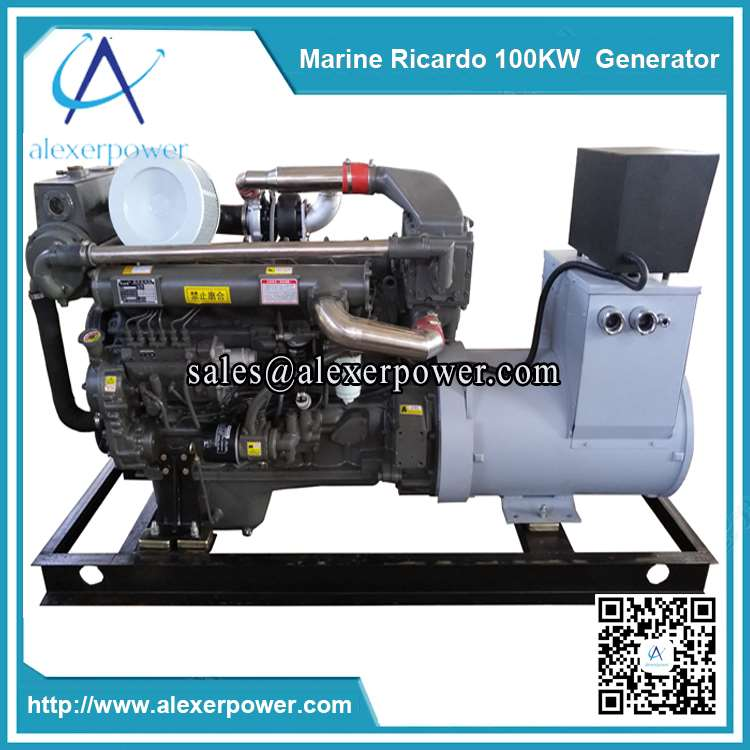 ricardo 100kw marine generator weichai r6105azlcd marine diesel generator. Black Bedroom Furniture Sets. Home Design Ideas