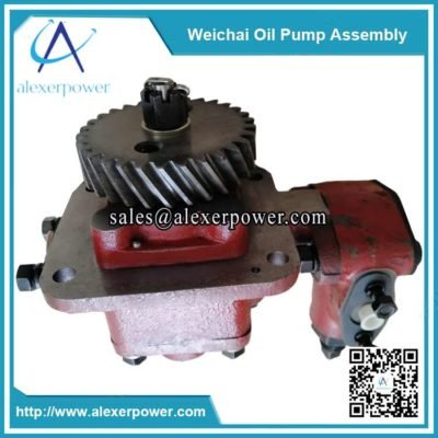 Weichai-R6160A-oil-pump-assembly-160A.11B.00-2