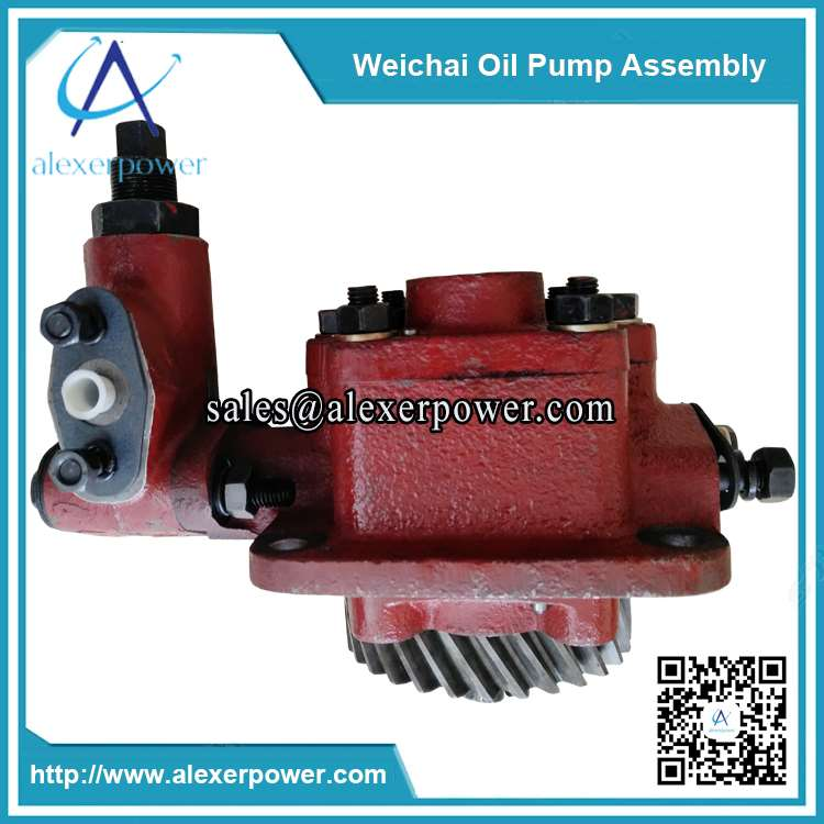 Weichai-R6160A-oil-pump-assembly-160A.11B.00-3