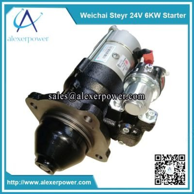 Genuine-weichai-engine-parts-steyr-starter-612600090923-24V-6KW-1