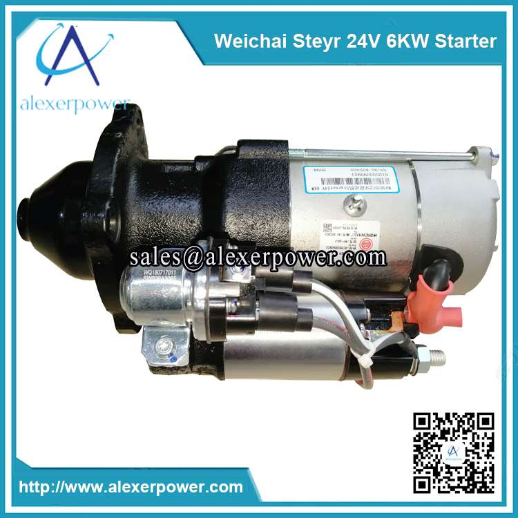 Genuine-weichai-engine-parts-steyr-starter-612600090923-24V-6KW-2