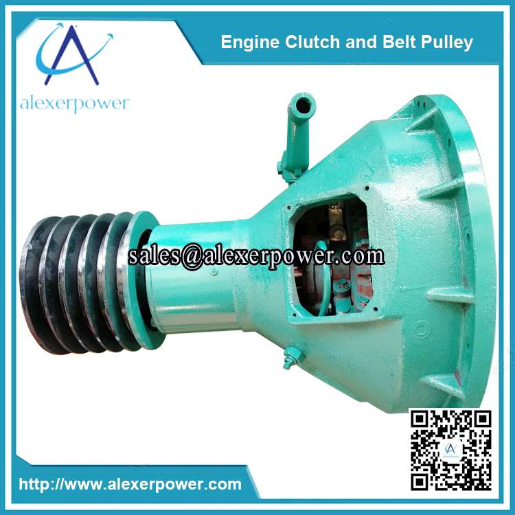 diesel-engine-cultch-and-belt-pulley-PTO-shaft-1
