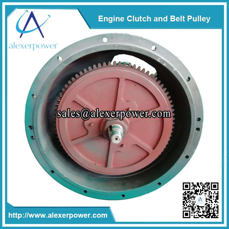 diesel-engine-cultch-and-belt-pulley-PTO-shaft-2