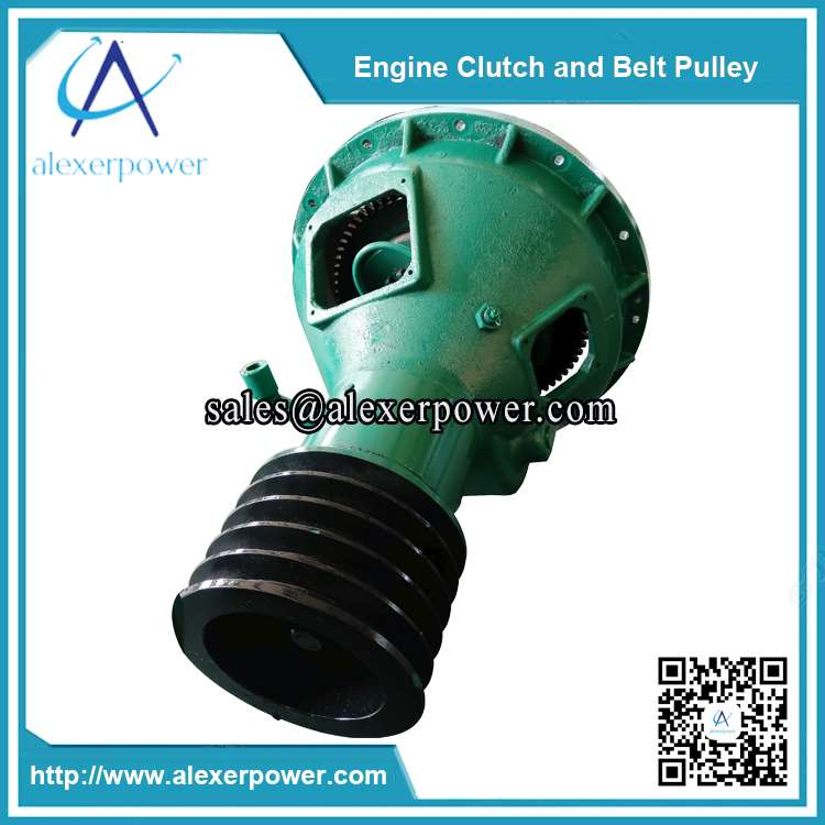 diesel-engine-cultch-and-belt-pulley-PTO-shaft-3