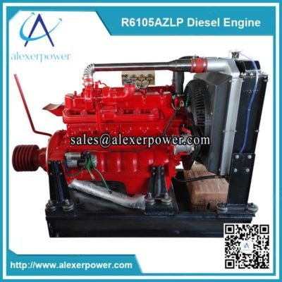 Weifang-ricardo-r6105azlp-diesel-engine-with-clutch-and-pulley-2